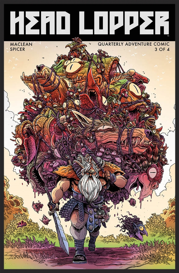 James Stokoe variant for Head Lopper #3