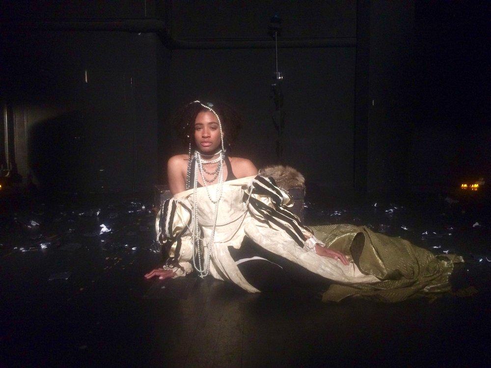 Actress Olivia Gray, Lady Macbeth