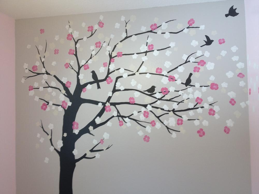Baby Nursery Tree Mural