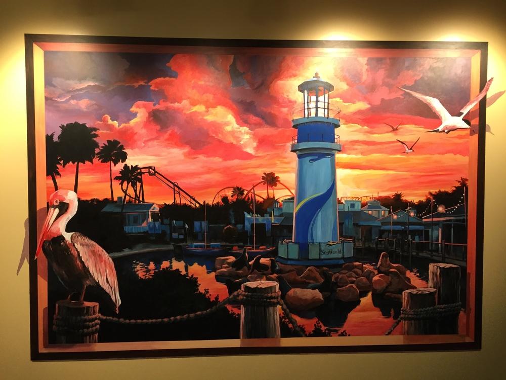 Seaworld Mural II