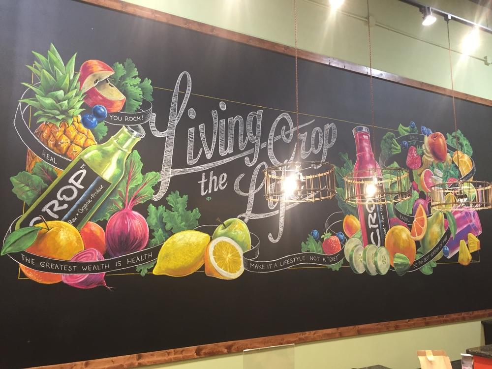 Crop Juice Mural