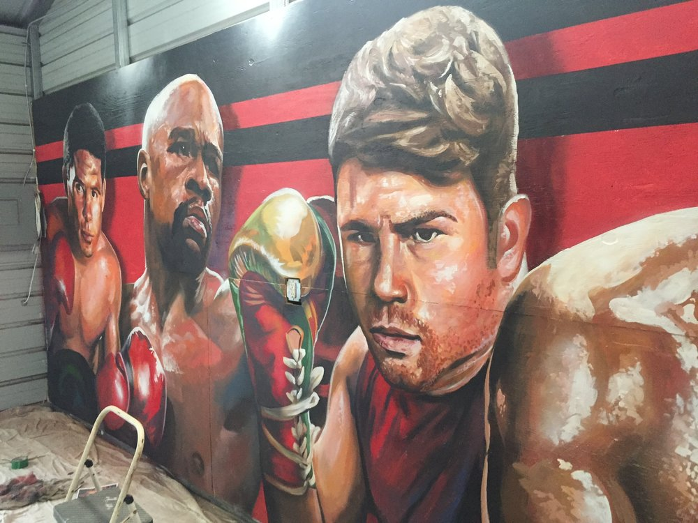 Gallos Boxing Gym: The Greats