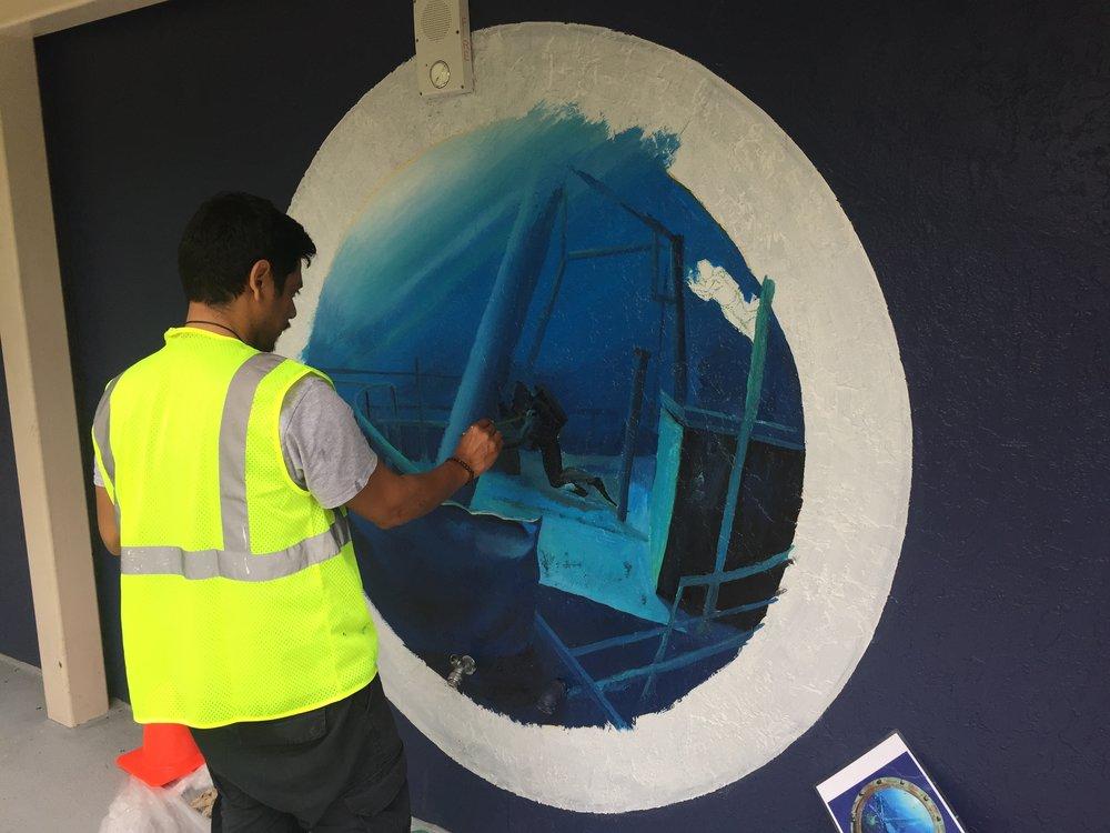 Portholes Mural