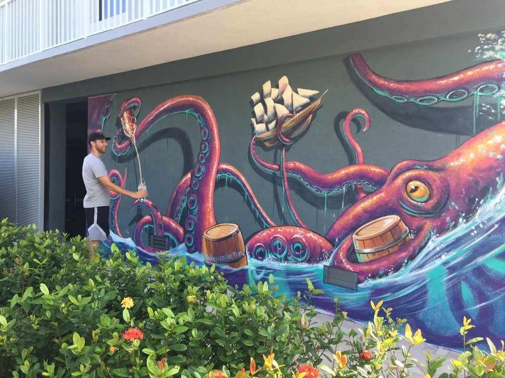 Kracken Interactive Mural