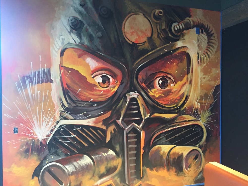 Gas Mask almost finished