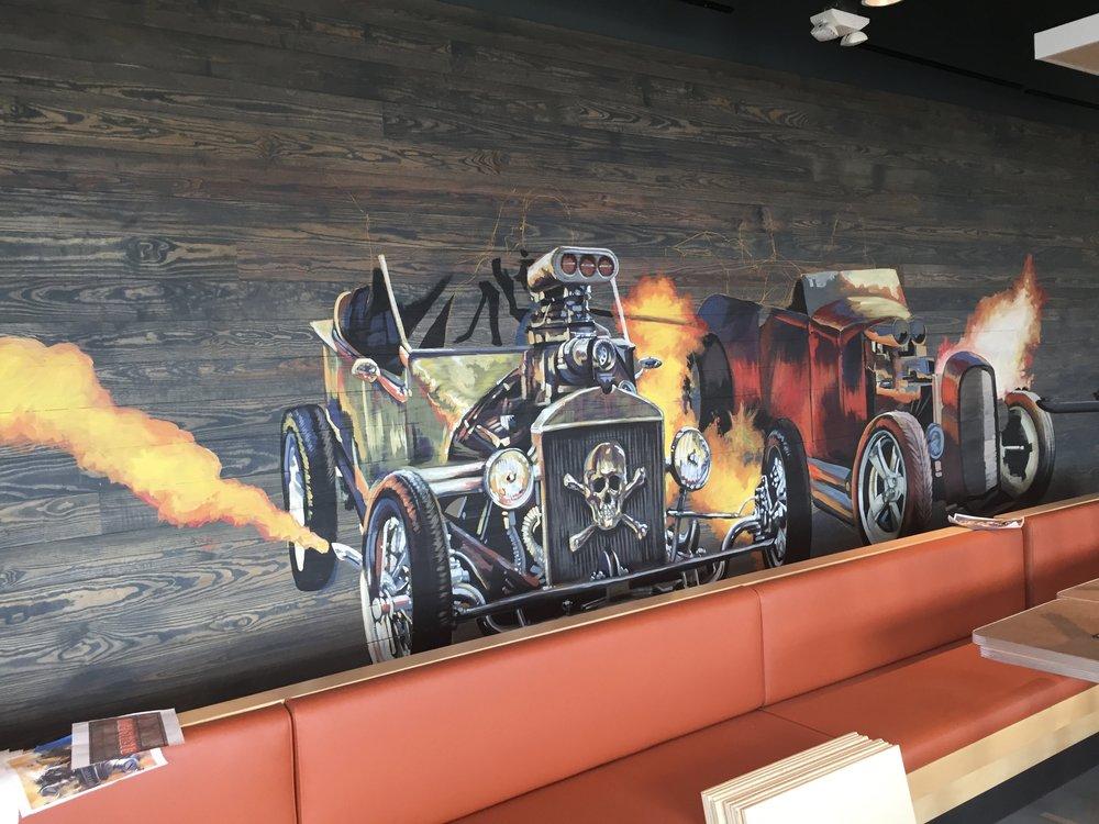 Racing classic cars