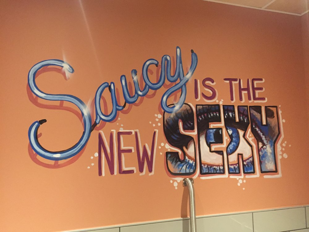 Saucy is the New Sexy