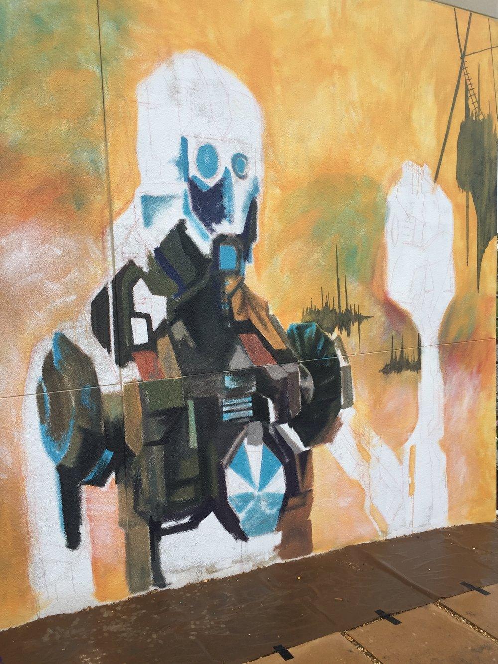 Robot Hamlet Base