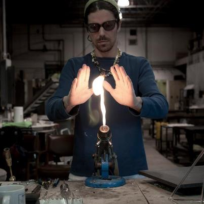 Joe-Sherry-Handblown-Glass-Glassblower
