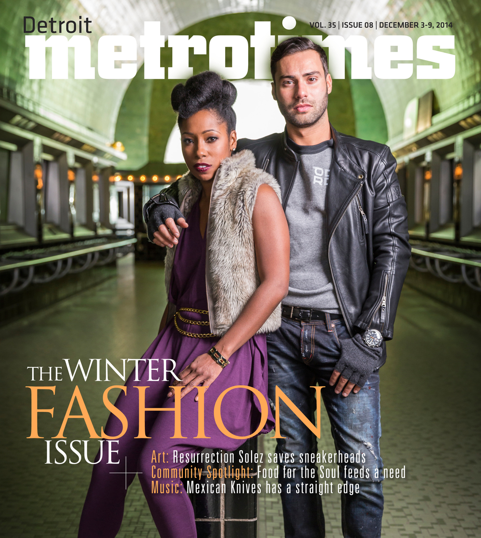 Detroit MetroTimes Winter Fashion 2014