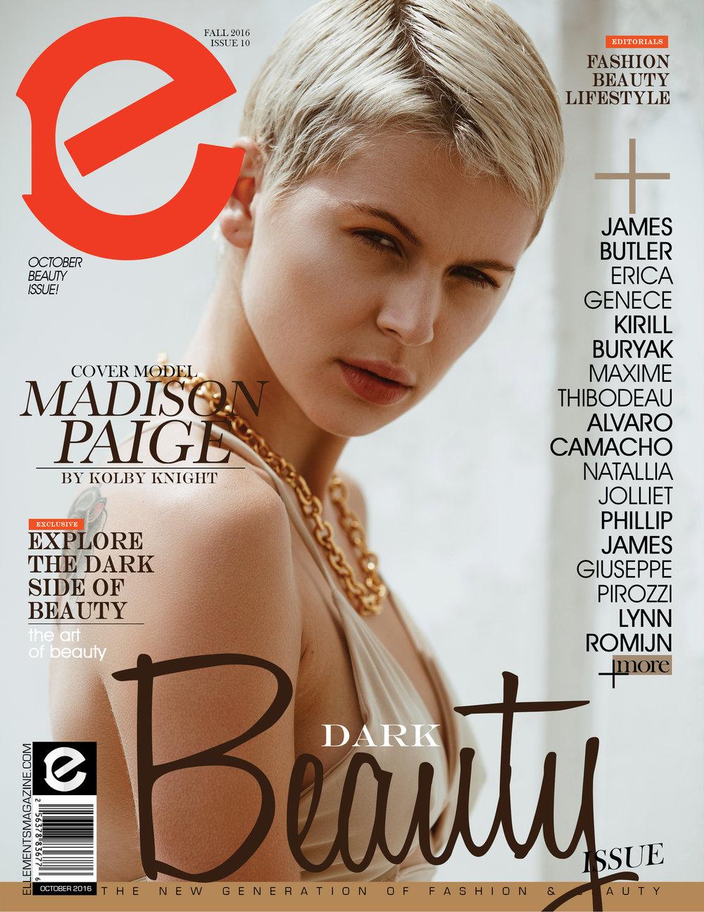 Ellements Magazine , Cover Story Nov 2016