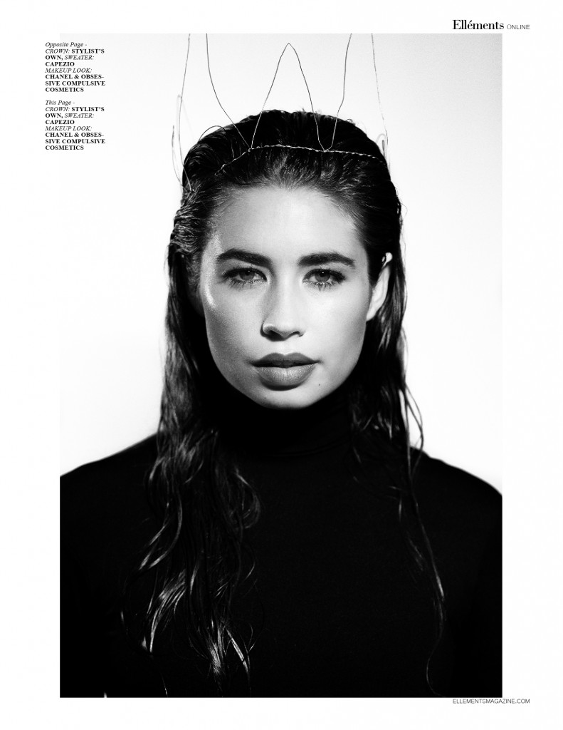 """Beauty Within"" Ellements Magazine April 2015"