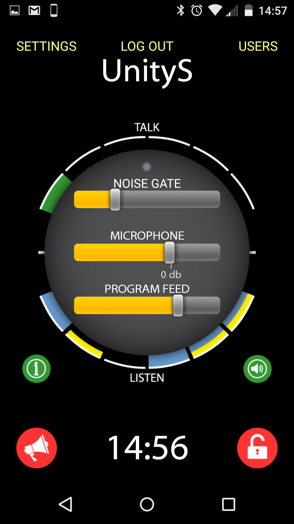 Noise Gate Adjustment