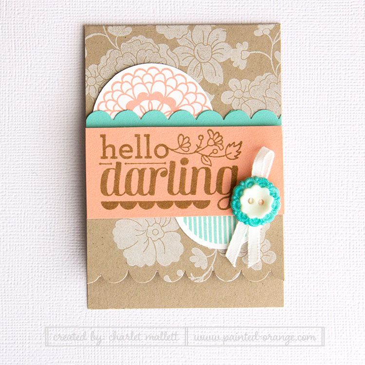 Hello Darling Card - Stampin' Up!