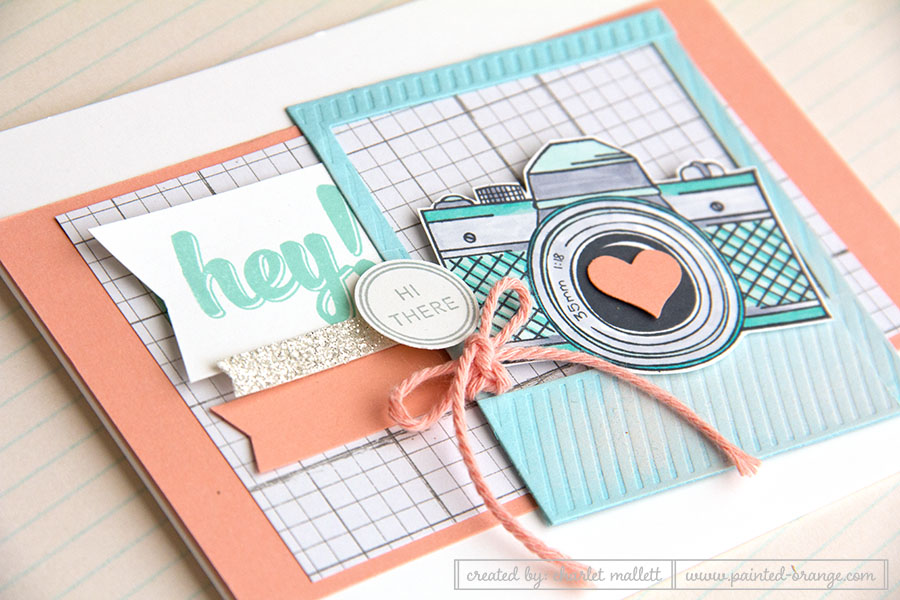 Snapshot Hi There Card, Stampin' Up!