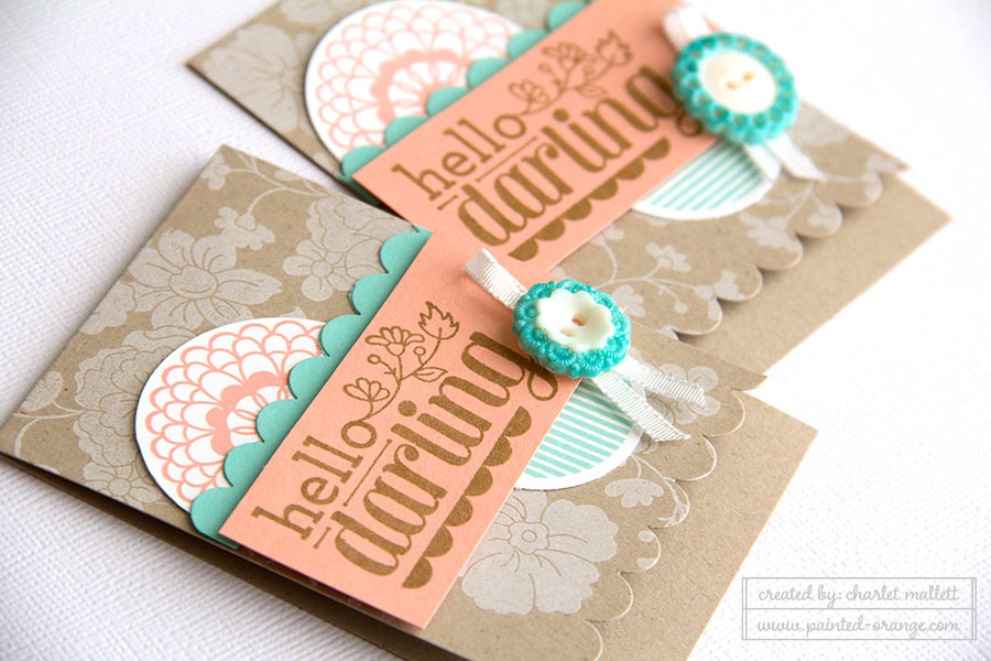 Hello Darling, Stampin' Up!