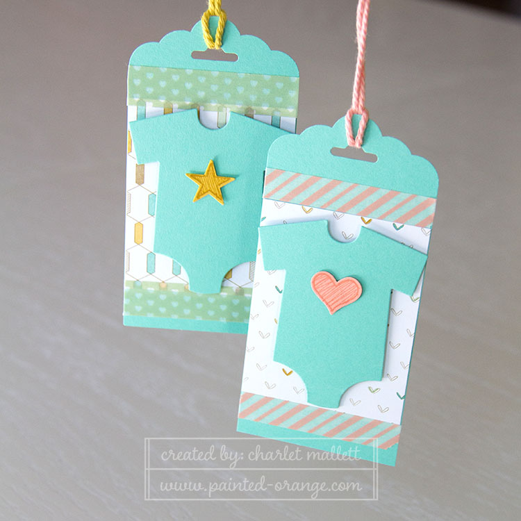 Something for baby matching gift tags
