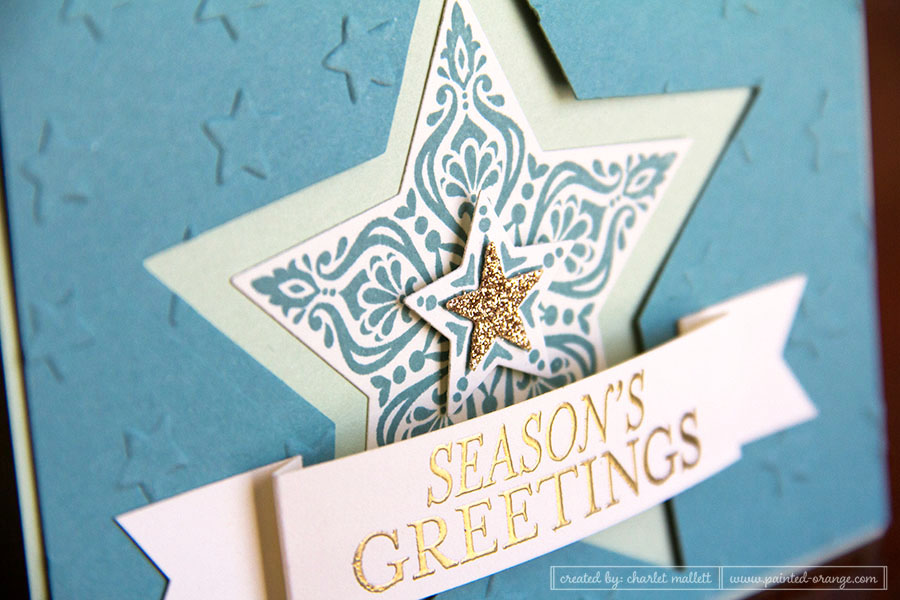 Bright & Beautiful card - Stampin' Up!