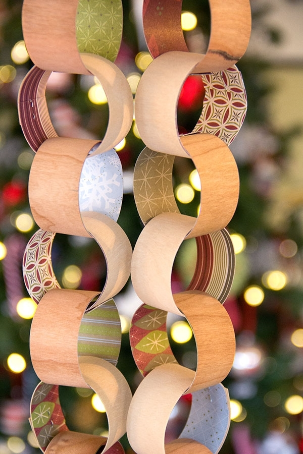 BARC Wood Paper Chain