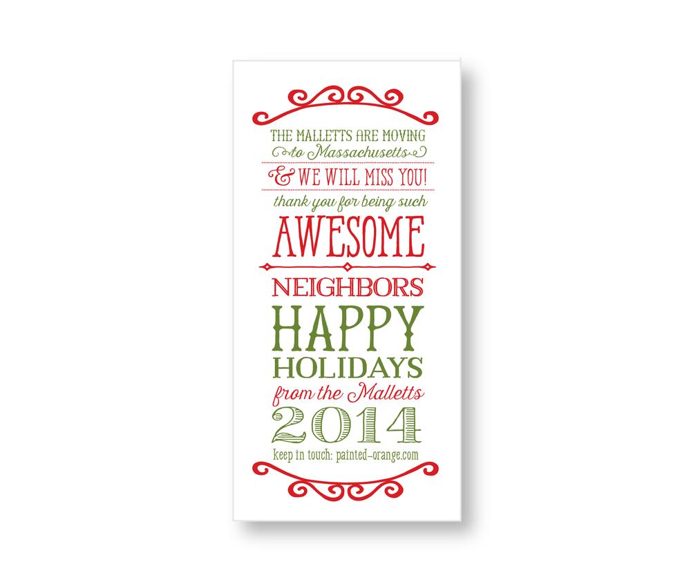 Neighbor tag design.