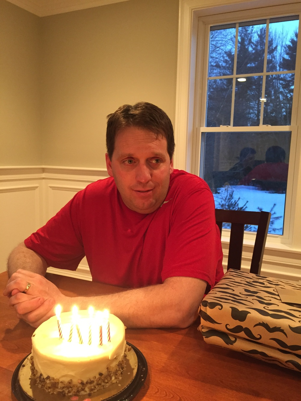 Chris turned 42! Happy Birthday babe!