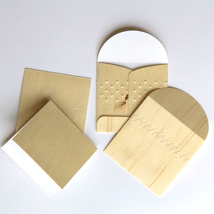 BARC Birch wood notecards and envelopes