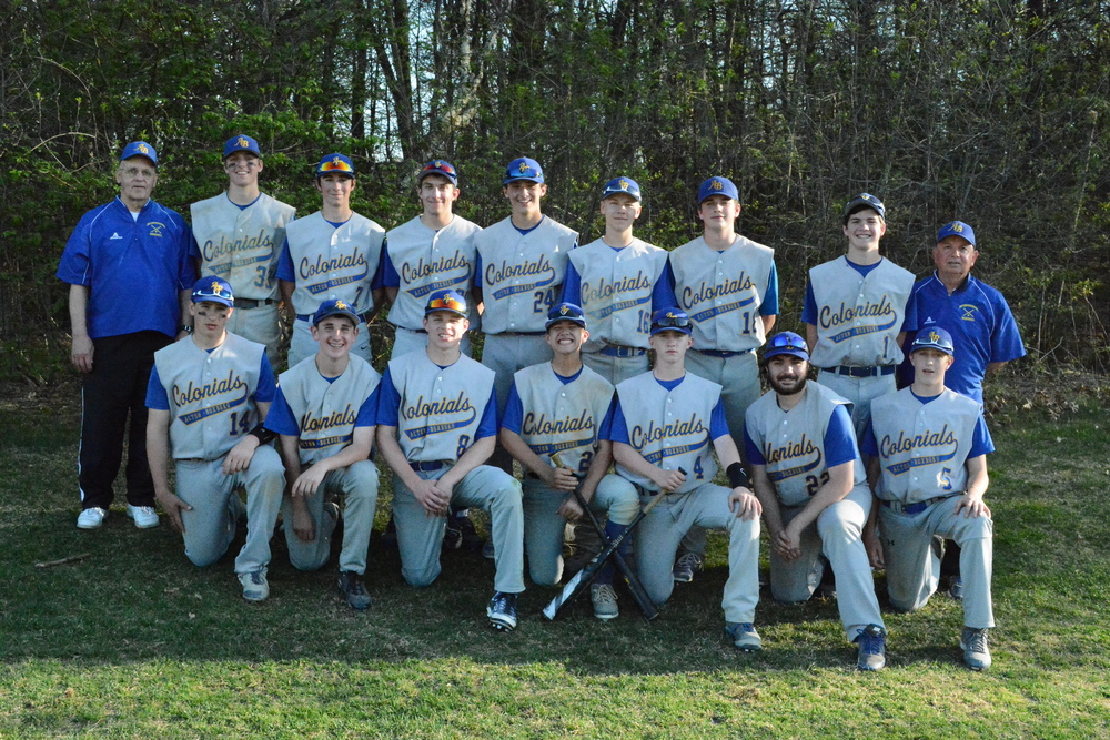 AB Colonials JV 2015 Team