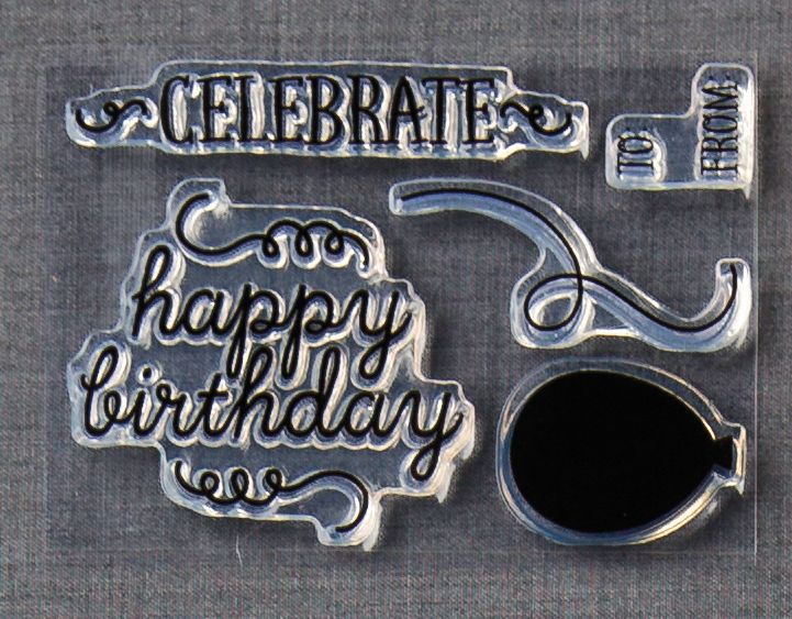 Birthday Bundle Stamp set from May 2015 Paper Pumpkin