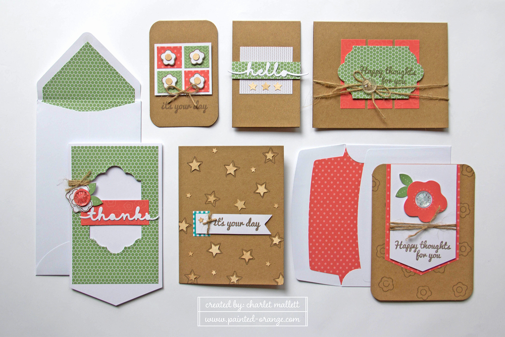 Happy Thoughts June 2015 Paper Pumpkin alternates