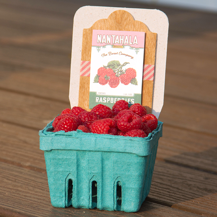 BARC Berry Basket label