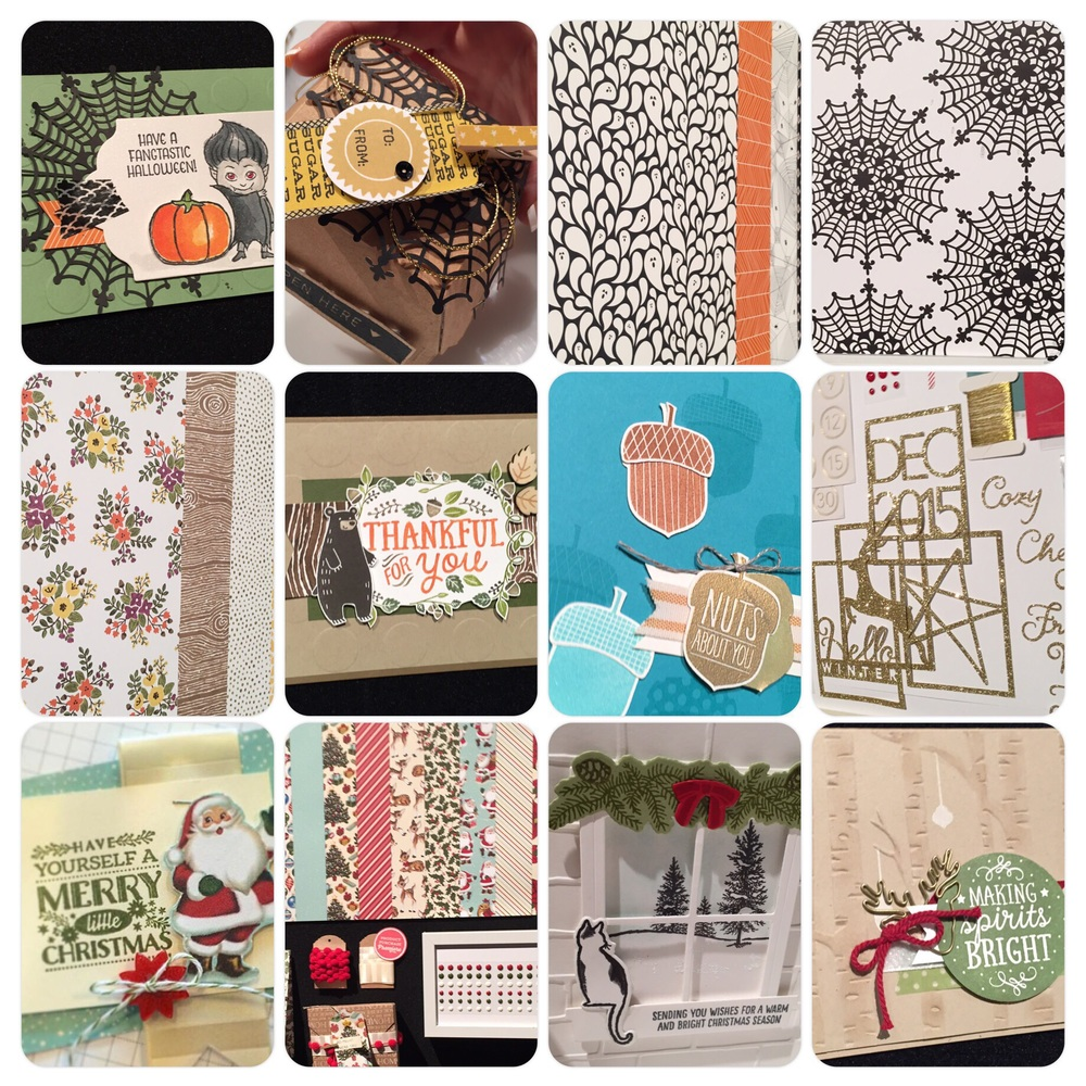 2015 Holiday mini catalog samples - fun products are coming! Stampin' Up!