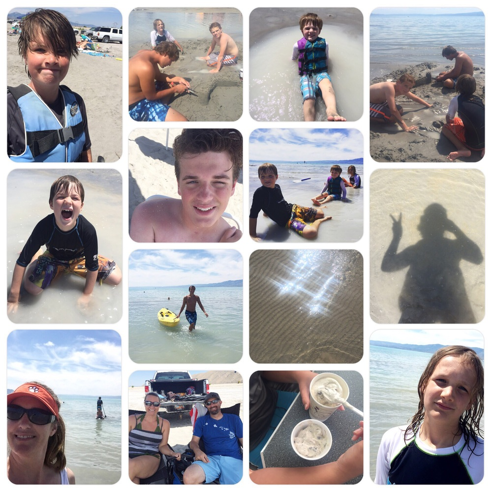 Bear Lake fun with the Brooks family. 8.1.15