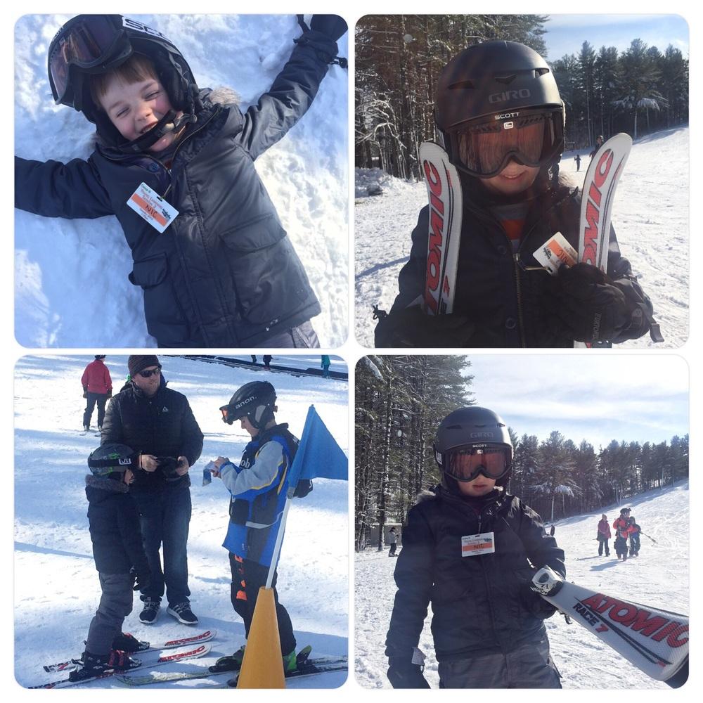 Nic ski lessons