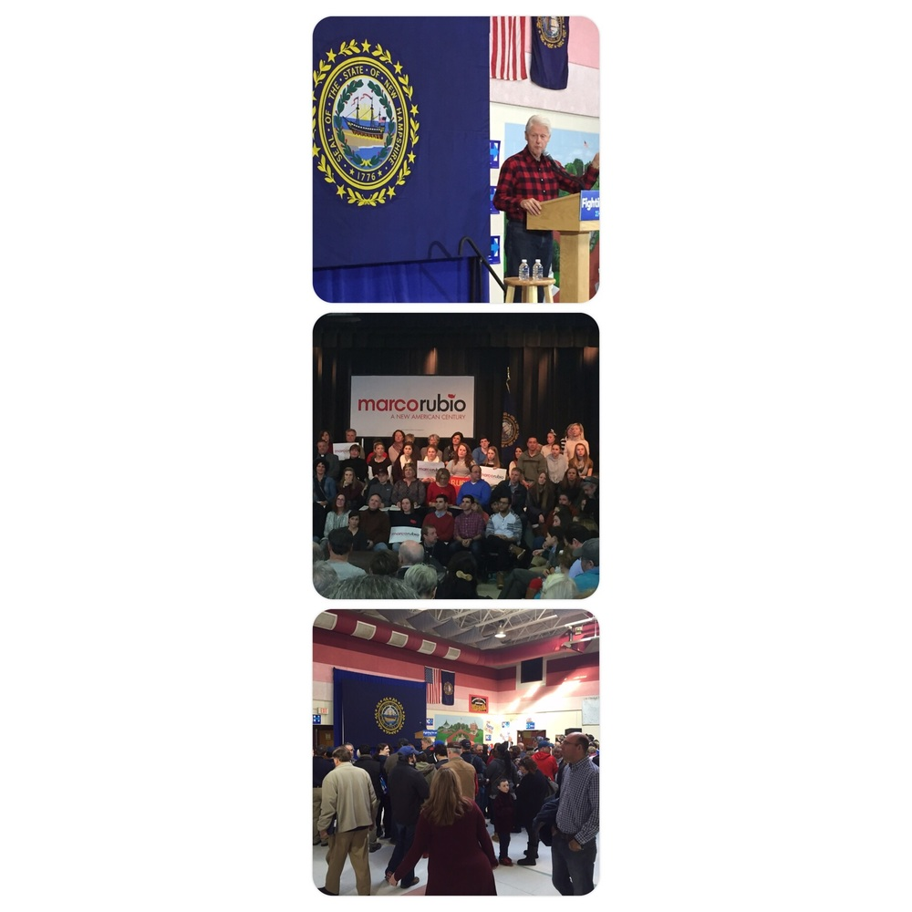 NH rallies for 2016 primary