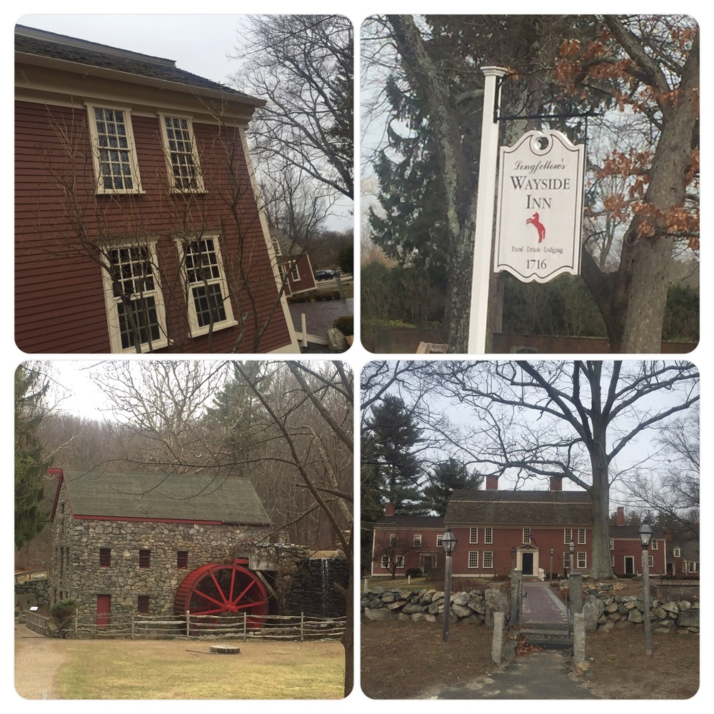 Longfellow's Wayside Inn and grounds