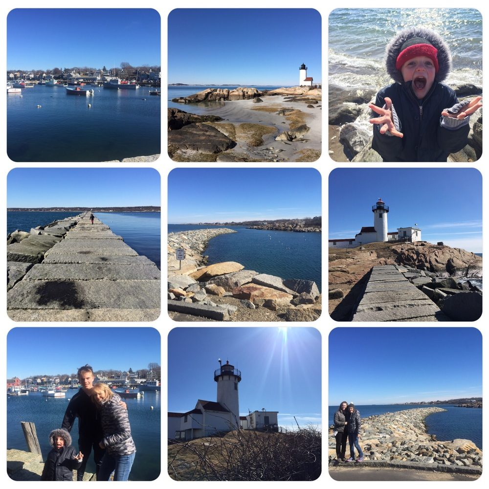 North coast day trip to seek out a few lighthouses. COLD!