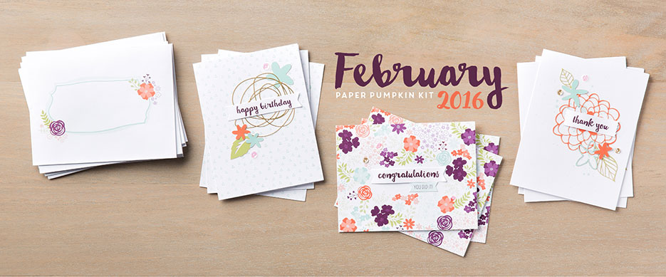 Hello Sunshine - February 2016 Paper Pumpkin Kit