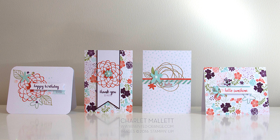 Hello Sunshine alternate projects by Charlet Mallett