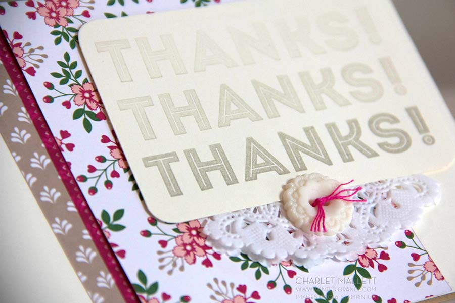One Big Meaning Thank You card