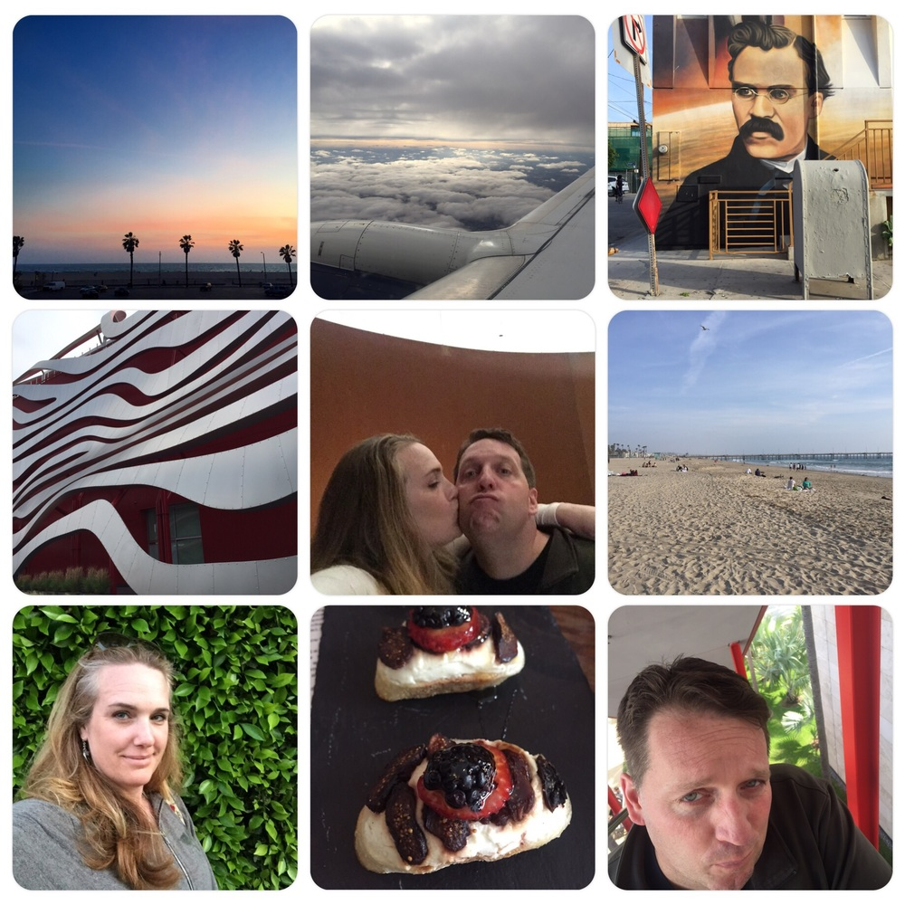 LA weekend - Venice, Manhattan & Santa Monica beaches/scenery