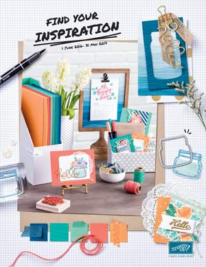 Get your copy of the NEW Stampin' Up! Catalog. Contact me today.