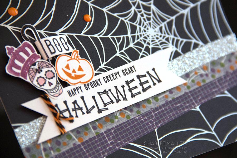Mr. Funny Bones Halloween card