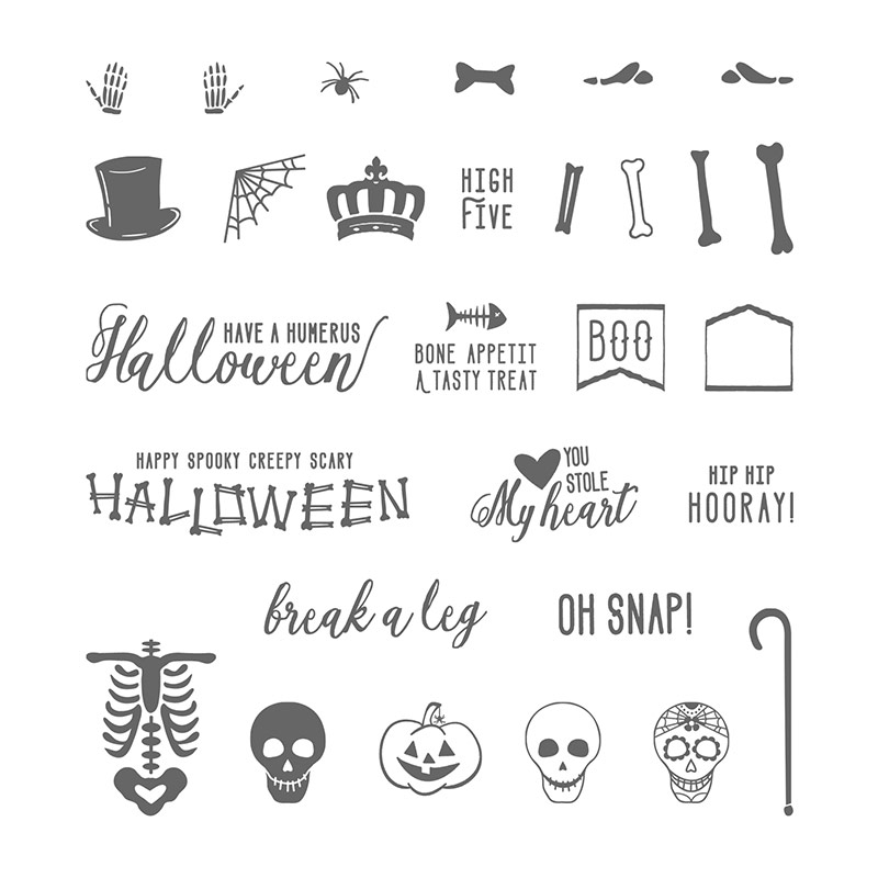 Mr. Funny Bones builder stamp set