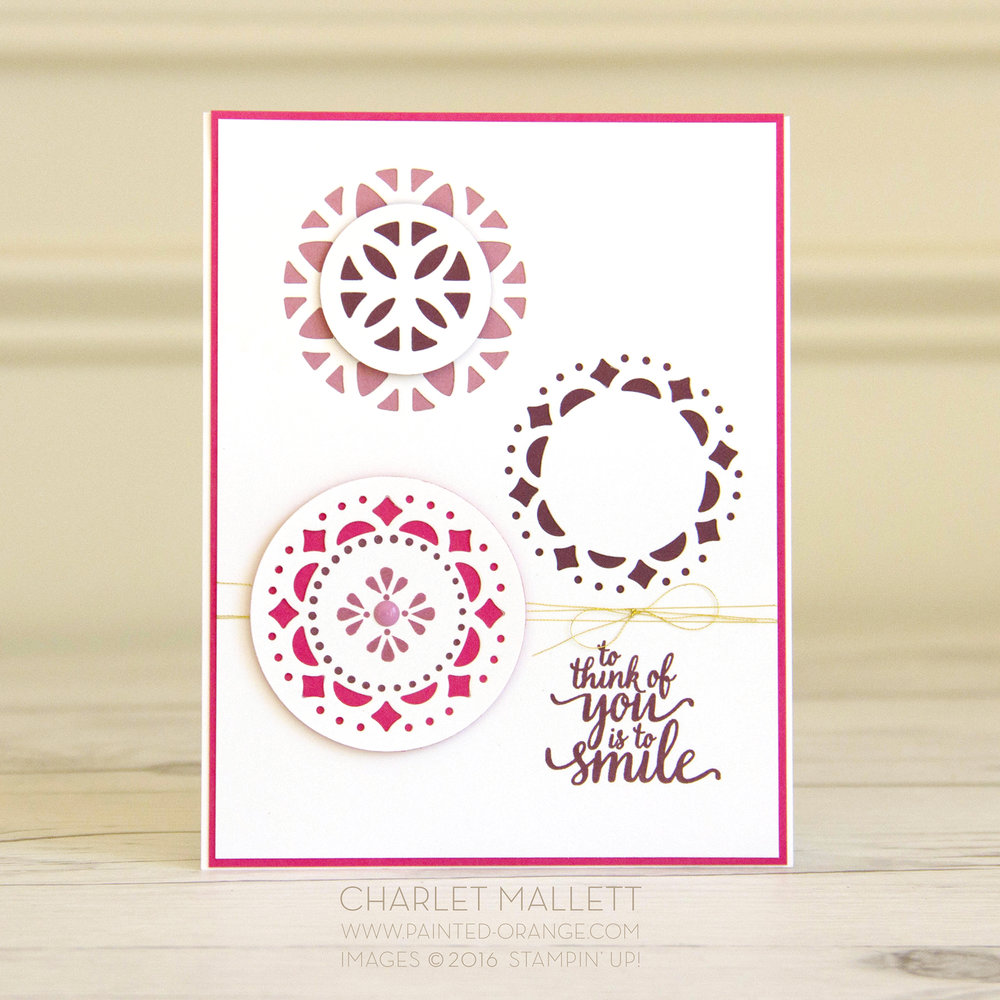 Eastern Palace card - Stampin' Up! Charlet Mallett