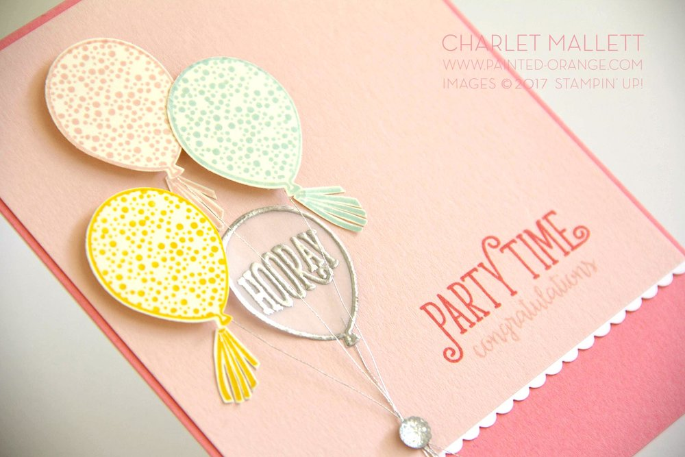 Happy Birthday Gorgeous - Charlet Mallett, Stampin' Up!