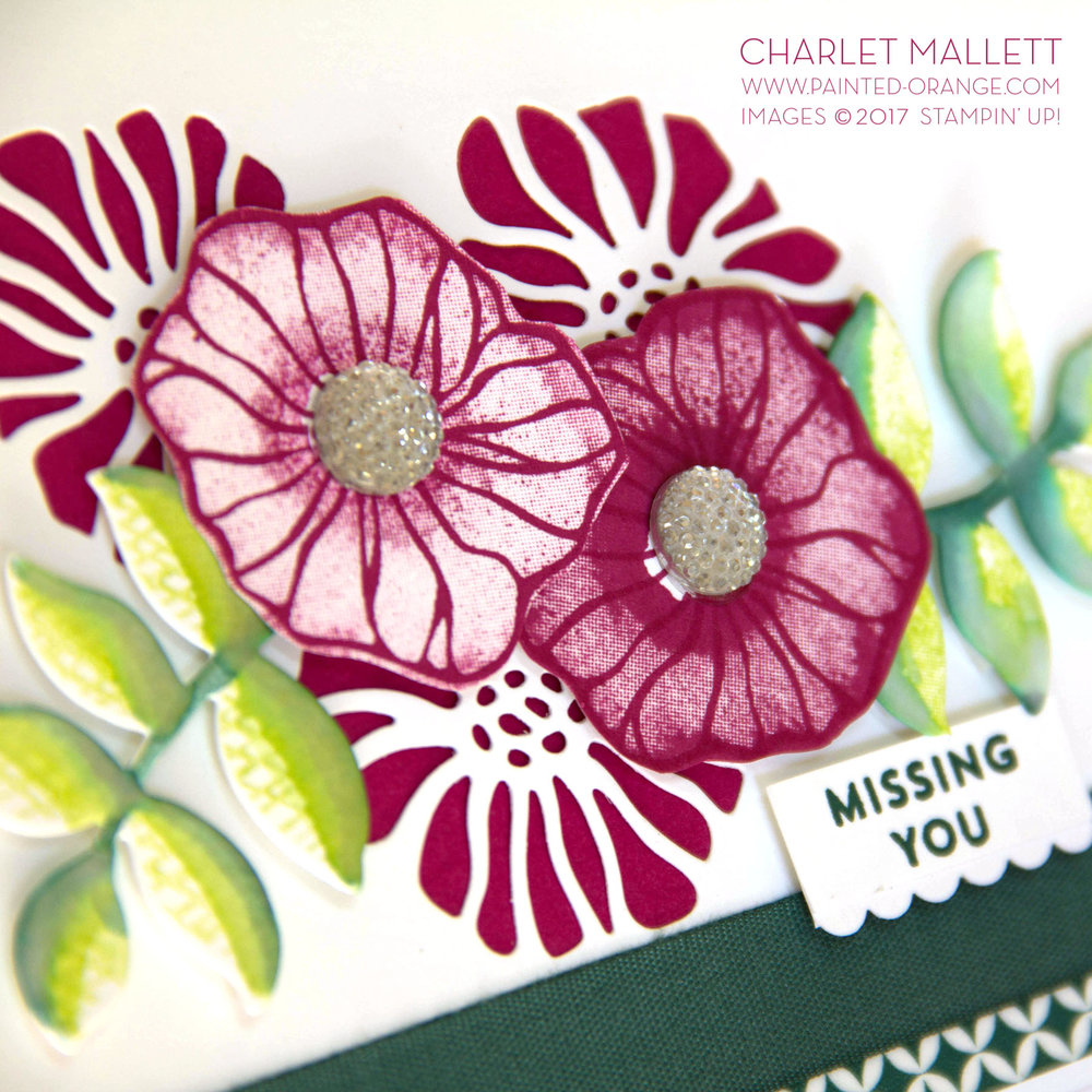 Oh So Eclectic - Charlet Mallett, Stampin' Up! TGIFC115 Color Challenge.