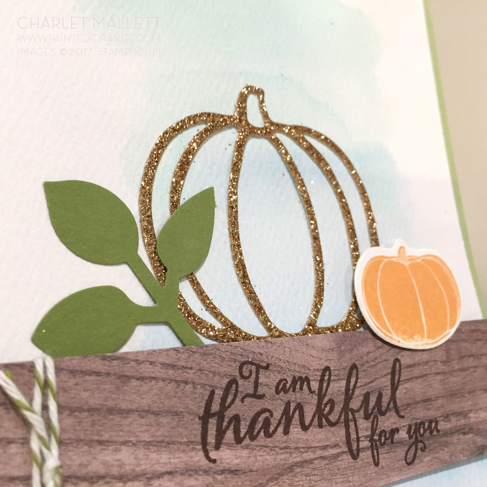 Pick a Pumpkin - Charlet Mallett, Stampin' Up!