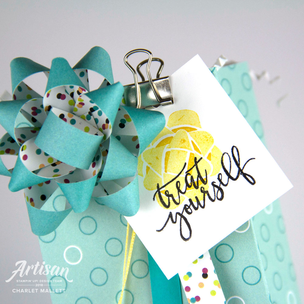 Picture Perfect Birthday gift bag - Charlet Mallett - Stampin' Up!
