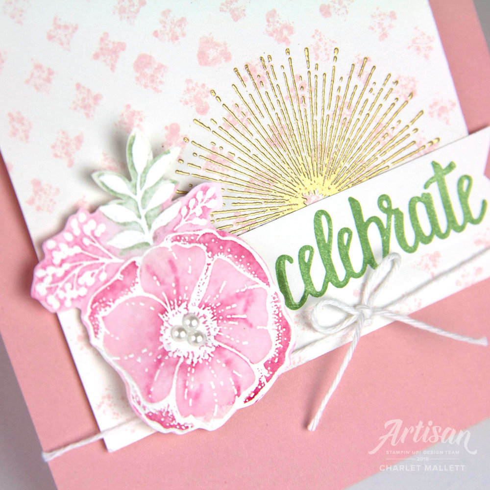Card featuring Amazing You stamp set - Charlet Mallett, Stampin' Up!