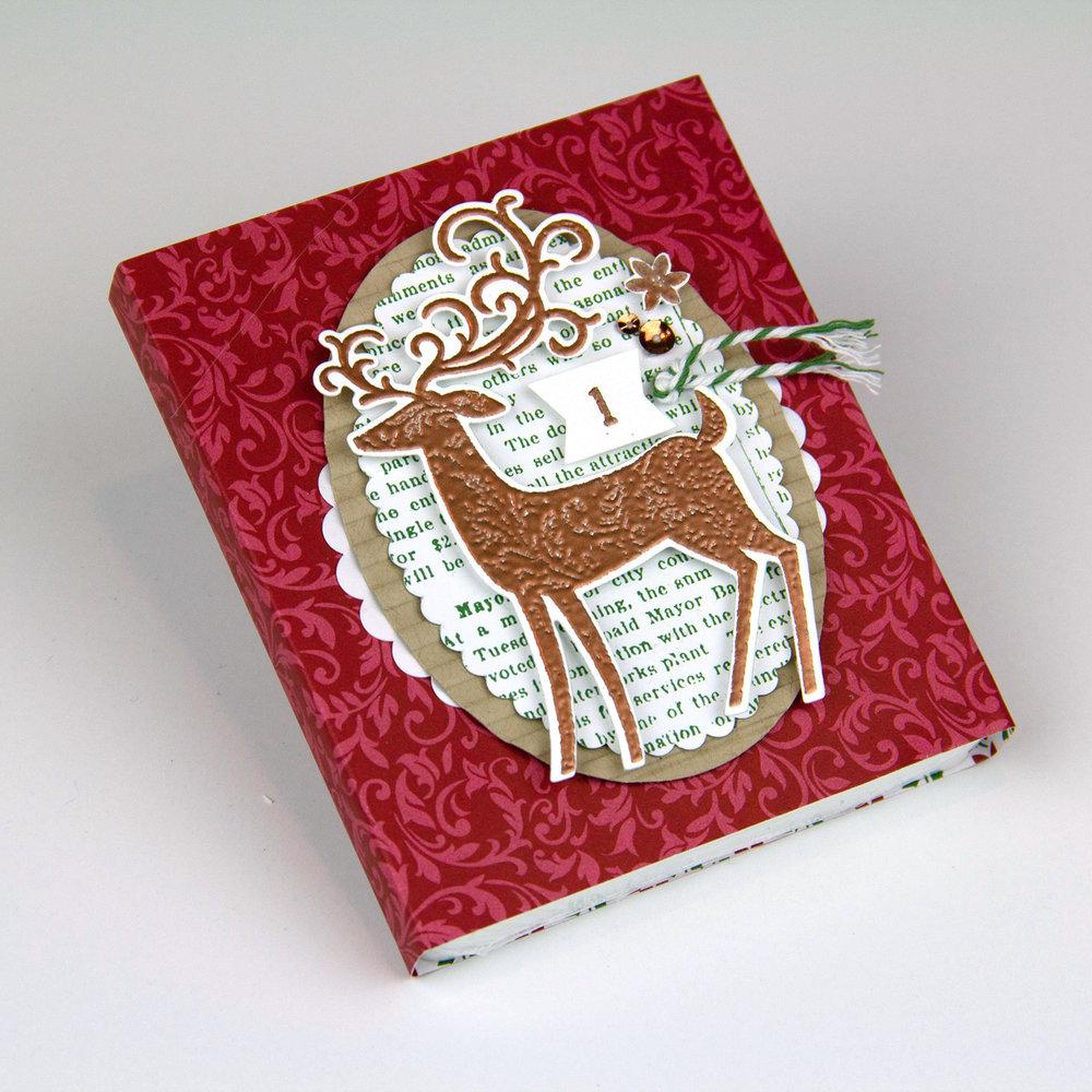 Dashing Deer &Dashing Along papers #1 - Charlet Mallett, Stampin' Up!